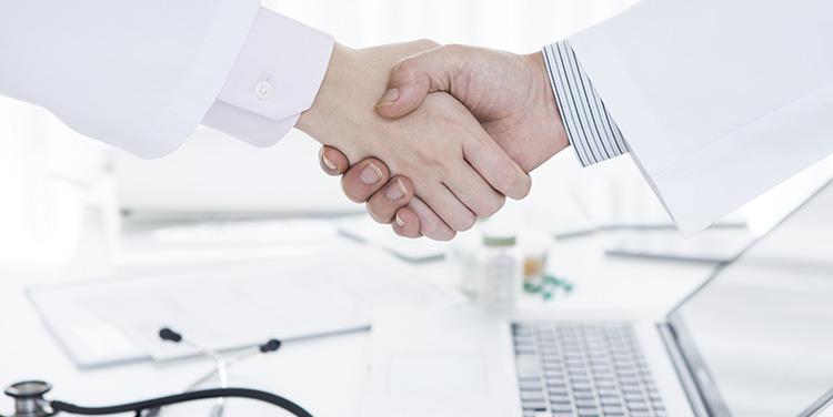 行政や他の医療機関との連携を大切にしております